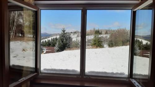 Widok z piętra domku