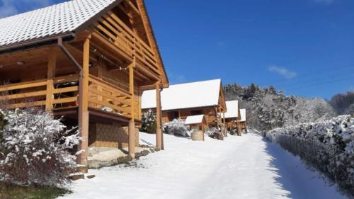 Domki Solina w Zimie