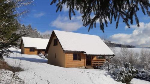 Domki Solina Zimą