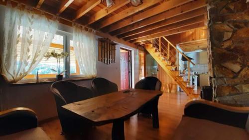 Salon - Domki całoroczne w Solinie